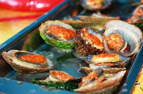 Paisagem, textura e sabor de mar...