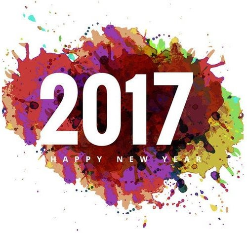 vector-colorful-grunge-on-2017-happy-new-year-card