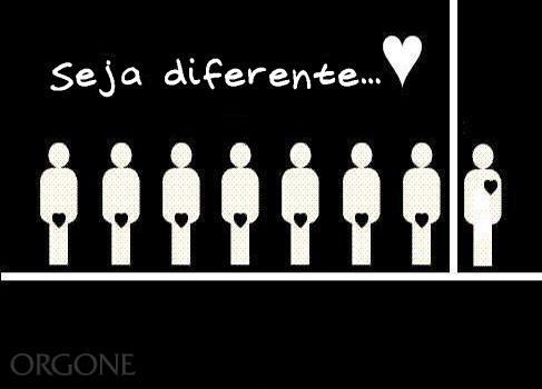 Seja diferente