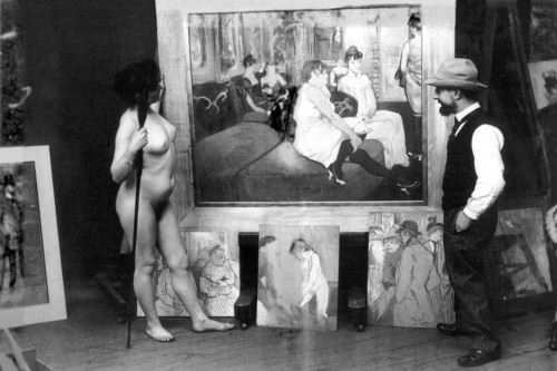 Toulouse-Lautrec_in_his_workshop_with_a_nude_model