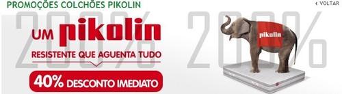40% desconto imediato   JUMBO   de 1 a 30 abril - Pikolin
