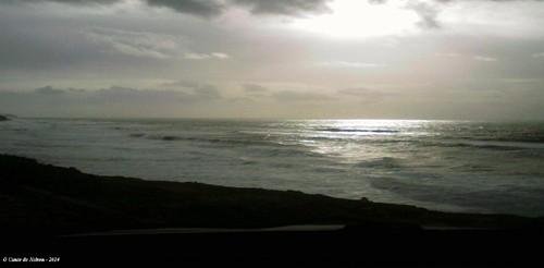 Praia de são julião - Sintra em dia de temporal