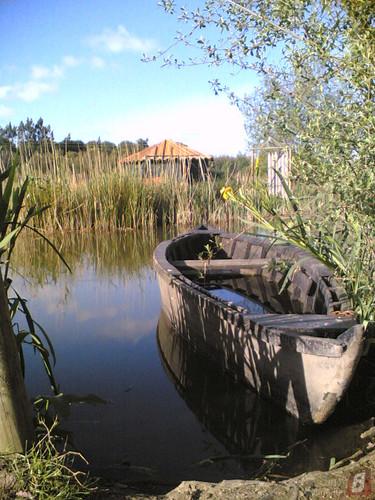 Parque do Lago em Maiorca: Barco a afundar