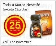 25% de desconto | CONTINENTE | marca Nescafé