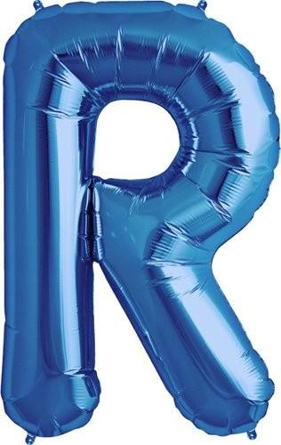 R - Blue Helium Foil Balloon.jpg
