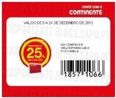 Acumulação Super-Preço + Vale + Cupão | CONTINENTE | Elnett, apenas a 9 dezembro