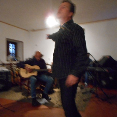 Vasco Gritali apresentado num concerto
