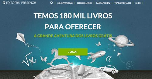 Campanha Livros Grátis Editorial Presença