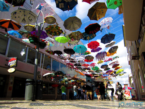 Umbrella Party no Bairro Novo da Figueira da Foz