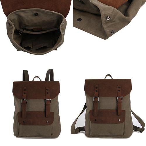 mochilas para homem de lona