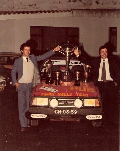 Valter Sousa, com Joaquim do Carmo, após o Sical'82...