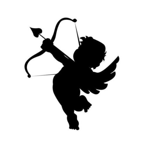 9-1-10-7CM-Cupid-Love-Arrow-Bow-Cartoon-Angel-Car-