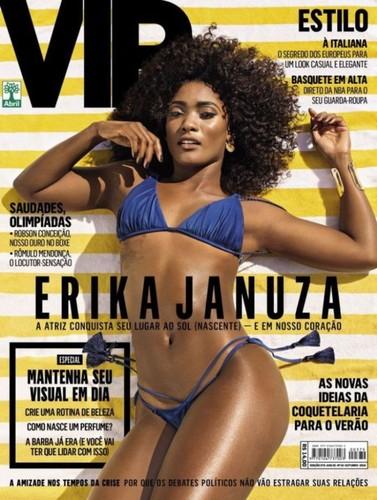 Erika Januza capa