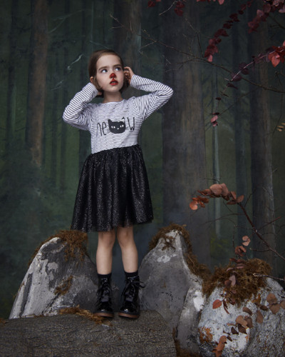 Primark Halloween Kids 2g meow tutu dress black E1