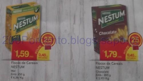 25% em Flocos de Cereais Nestlé no Continente