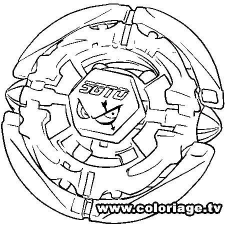 Beyblade para colorir - Dessin toupie ...