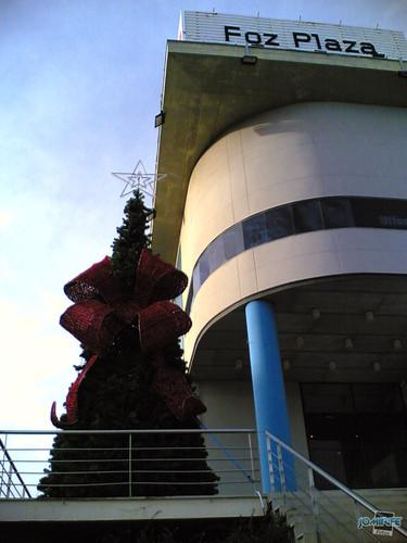 Centro Comercial Foz Plaza: Árvore de Natal