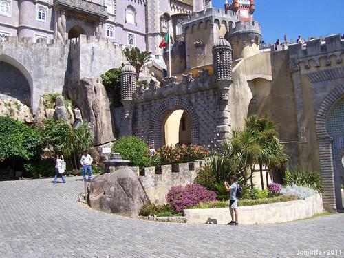 Sintra: Palácio da Pena - Entrada