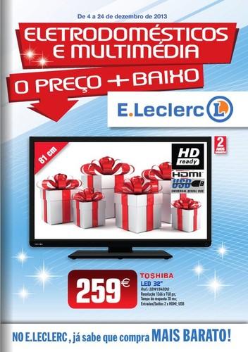 Antevisão folheto | E-LECLERC | Nacional de 4 a 24 dezembro