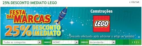 Novo Folheto   JUMBO   Lego 25% desconto Imediato, de 24 a 27 Outubro