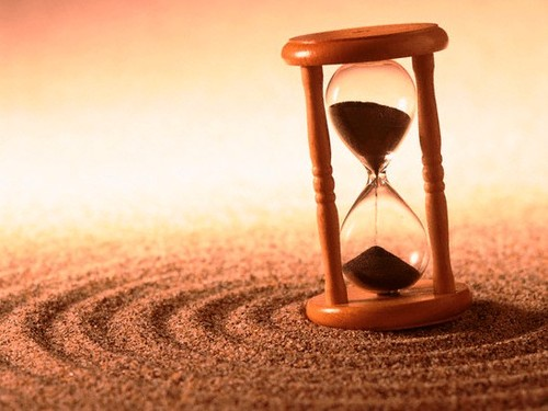 O tempo passa, o tempo muda...