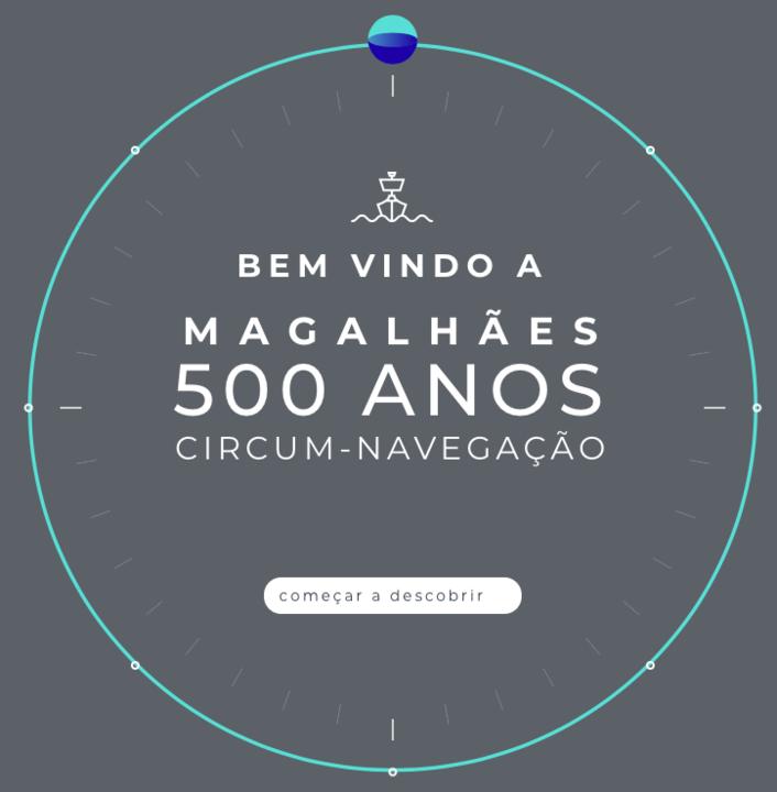 Magalhães - 500 Anos | circum-navegação