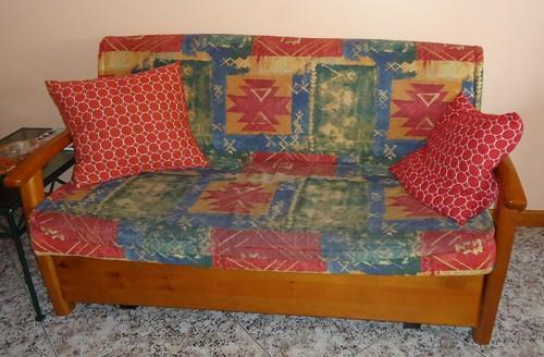 2 sof s cama usados franklimdasilvaoliveira for Sofas baratos usados