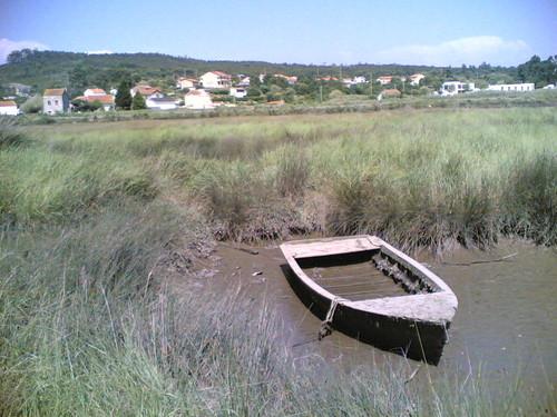 Barco velho na lama (Vila Verde - Figueira da Foz)