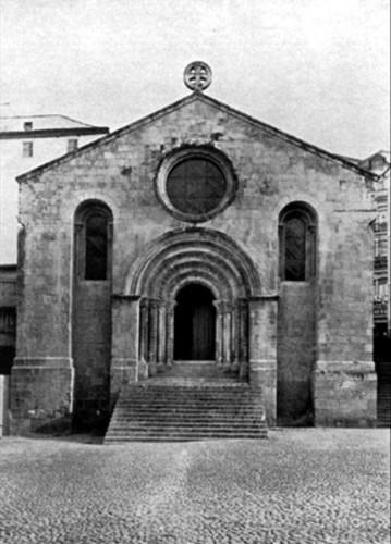A Igreja  de Sant'Iago depois das obras de restaur
