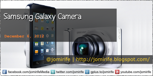 Blog Post: Samsung Galaxy Camera