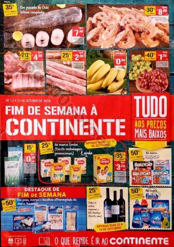antevisao fim de semana continente folheto 12 a 15