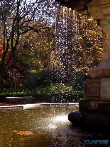 Jardim Botânico da Universidade de Coimbra (6) Fonte [en] Botanical Garden of the University of Coimbra - Fountain