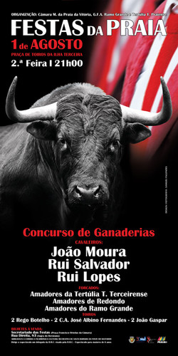 Um bom cartaz, domingo na Monumental Ilha Terceira...