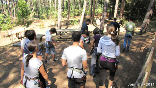 Parque Aventura: Conhecer os percursos