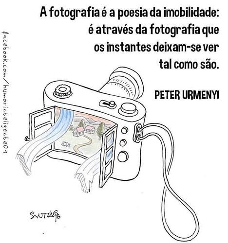 A fotografia é a poesia imobilizada