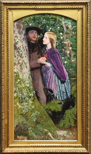 0 Arthur_Hughes_-_The_Long_Engagement_1859_(286350