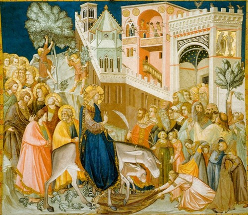 Assisi-frescoes-entry-into-jerusalem-pietro_lorenz