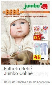 Folhetos   JUMBO   Bebé e Jumbo, até 6 fevereiro