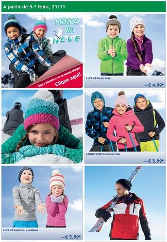 Novo Folheto | LIDL | Festa na neve, a partir de 21 novembro