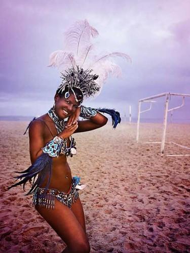 Carnaval y futbol en Brasil