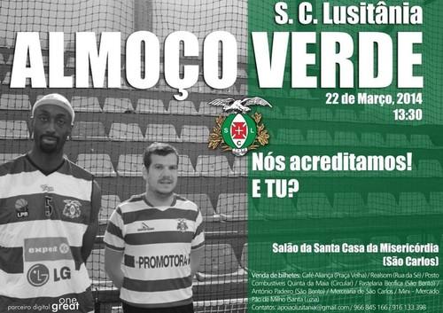 Vamos apoiar o Lusitânia...