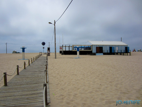 Bar de praia da Figueira da Foz #9 - Azul e branco (2) Beach Bar in Figueira da Foz