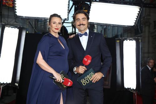 Sofia Cerveira e Ricardo Pereira na red carpet