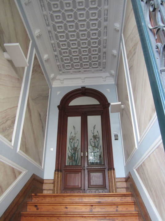 Fig. 24. Casa Arte Nova. Caixa da escada. [Foto RA
