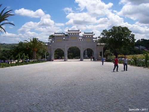 Jardim Buddha Eden - Entrada