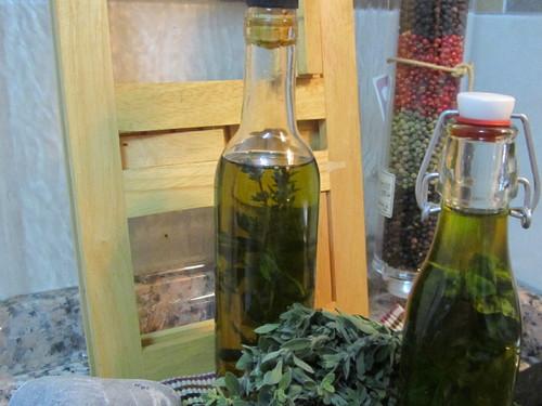 Azeites aromáticos