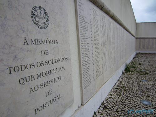 Lisboa - Museu do Combatente - Memória dos soldados que morreram ao serviço de Portugal (2) [en] Lisbon - Combatant Museum - Memory of soldiers who died in the service of Portugal