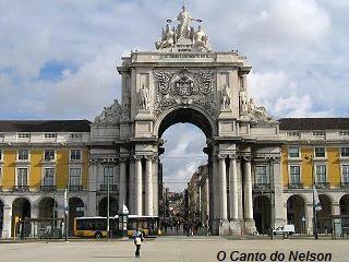 Lisboa-Praça do Comércio-Arco Triunfal