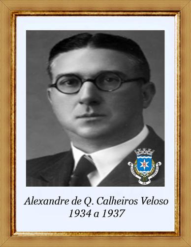 Alexandre de Quental Calheiros Veloso - 1934 a 193