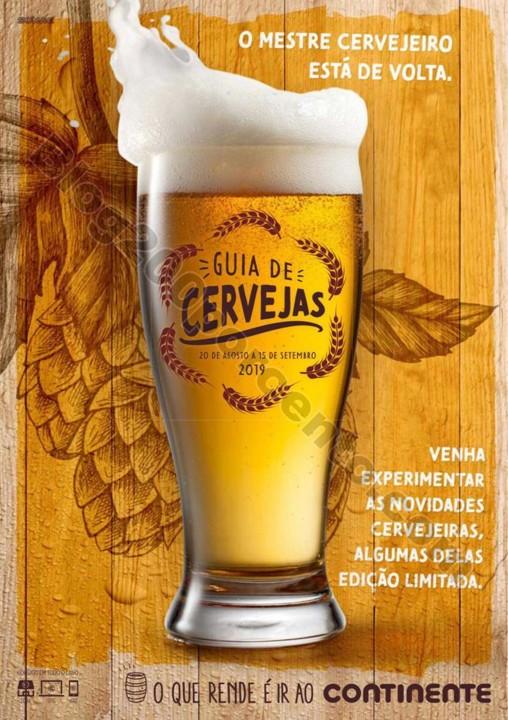 Antevisão Folheto CONTINENTE Especial Cervejas pr